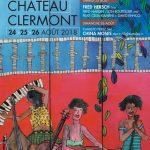Affiche Clermont Jazz 2018